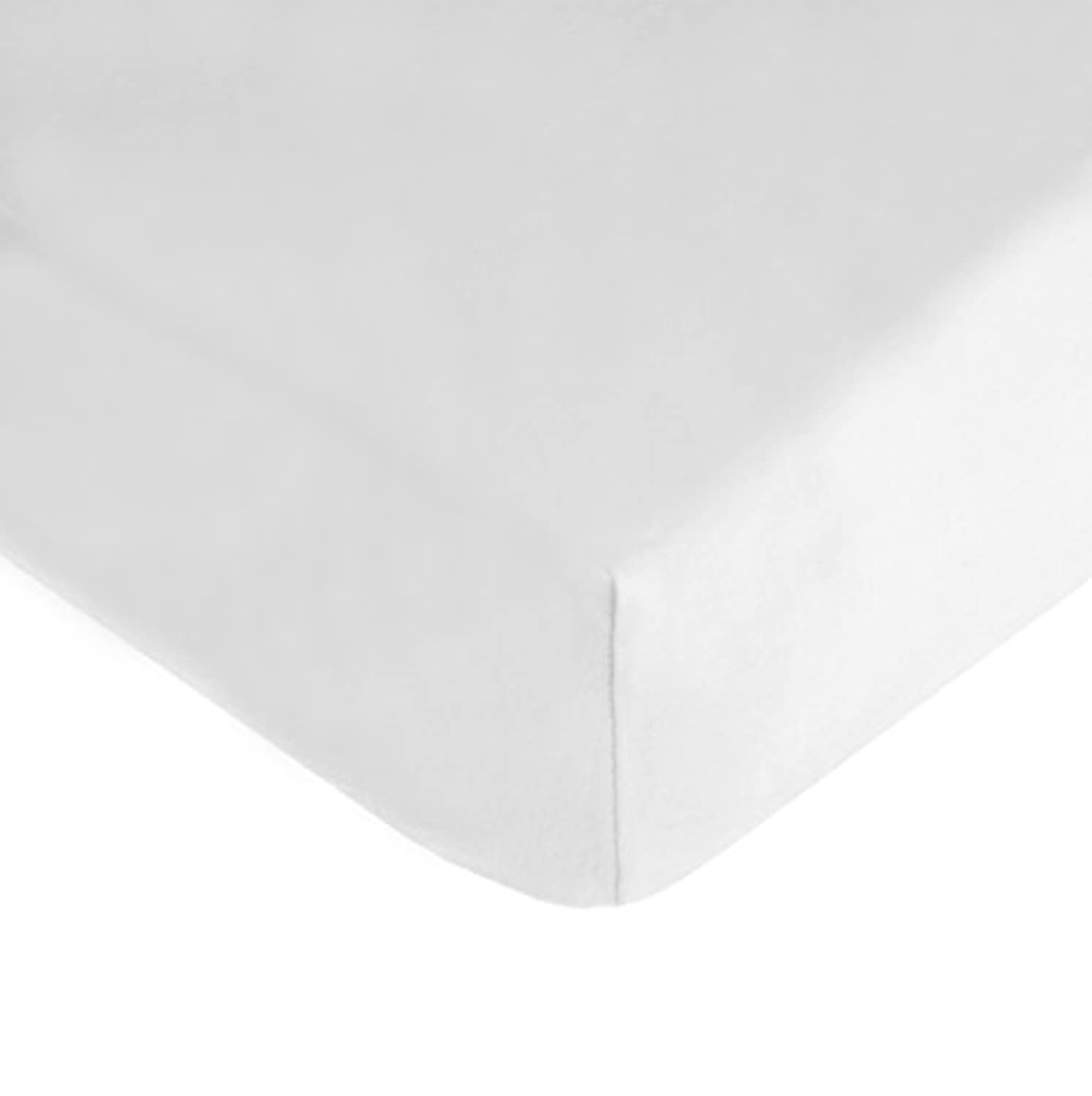 American Baby Company 100% Cotton Value Jersey Knit Crib Sheet, White by American Baby Company [並行輸入品]