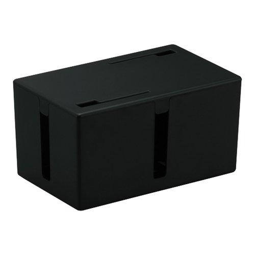 BUFFALO ケーブルボックス 電源タップ&ケーブル収容 ...