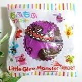 リトルグリーモンスター リトグリもふもふマスコット Little Glee Monster × ROUND1 ラウンドワン 紫