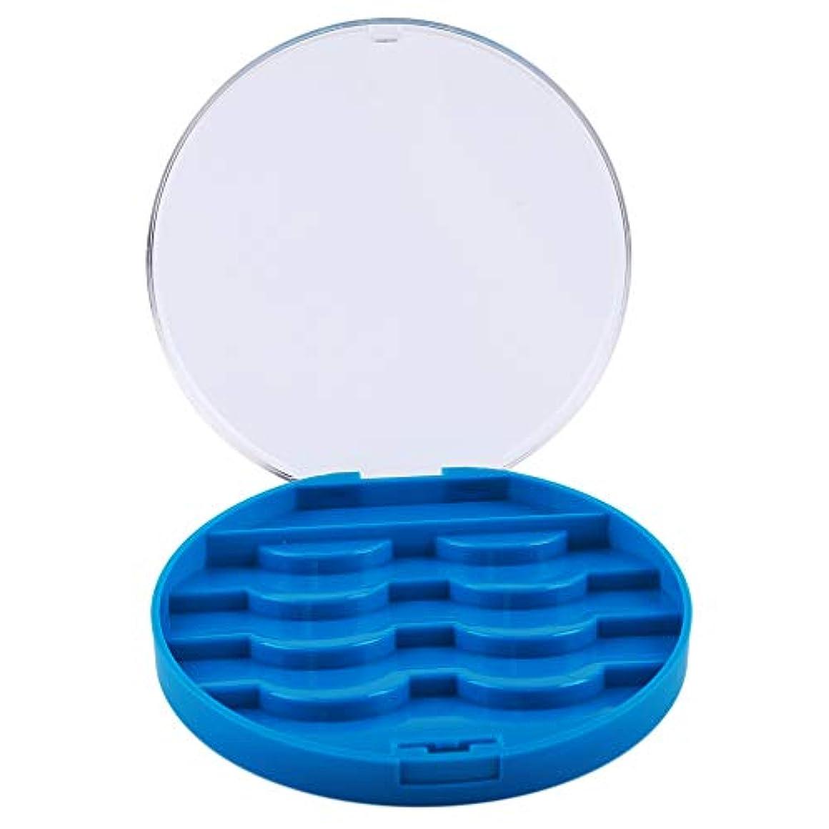 横向き実行可能バッテリーJIOLK まつげケース 付けまつげ まつげ 収納ボックス 小物収納ケース 便利 メイクアップ 可愛 コンテナ ラッシュ ホルダー