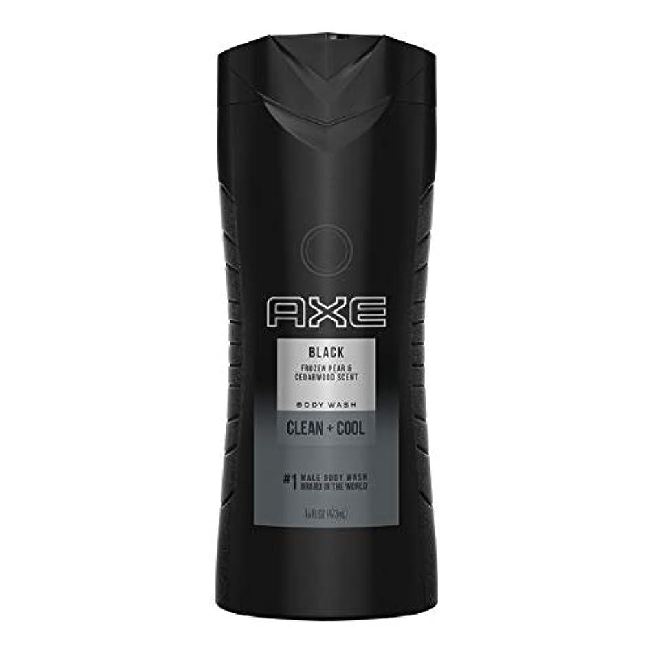 鉄アナロジーみすぼらしいAXE(アックス) Body Wash(ボディソープ) 473m (Black) [並行輸入品]