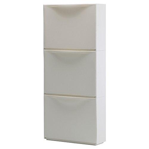 RoomClip商品情報 - IKEA(イケア) TRONES ホワイト 00189087 シューズキャビネット/ 収納、ホワイト