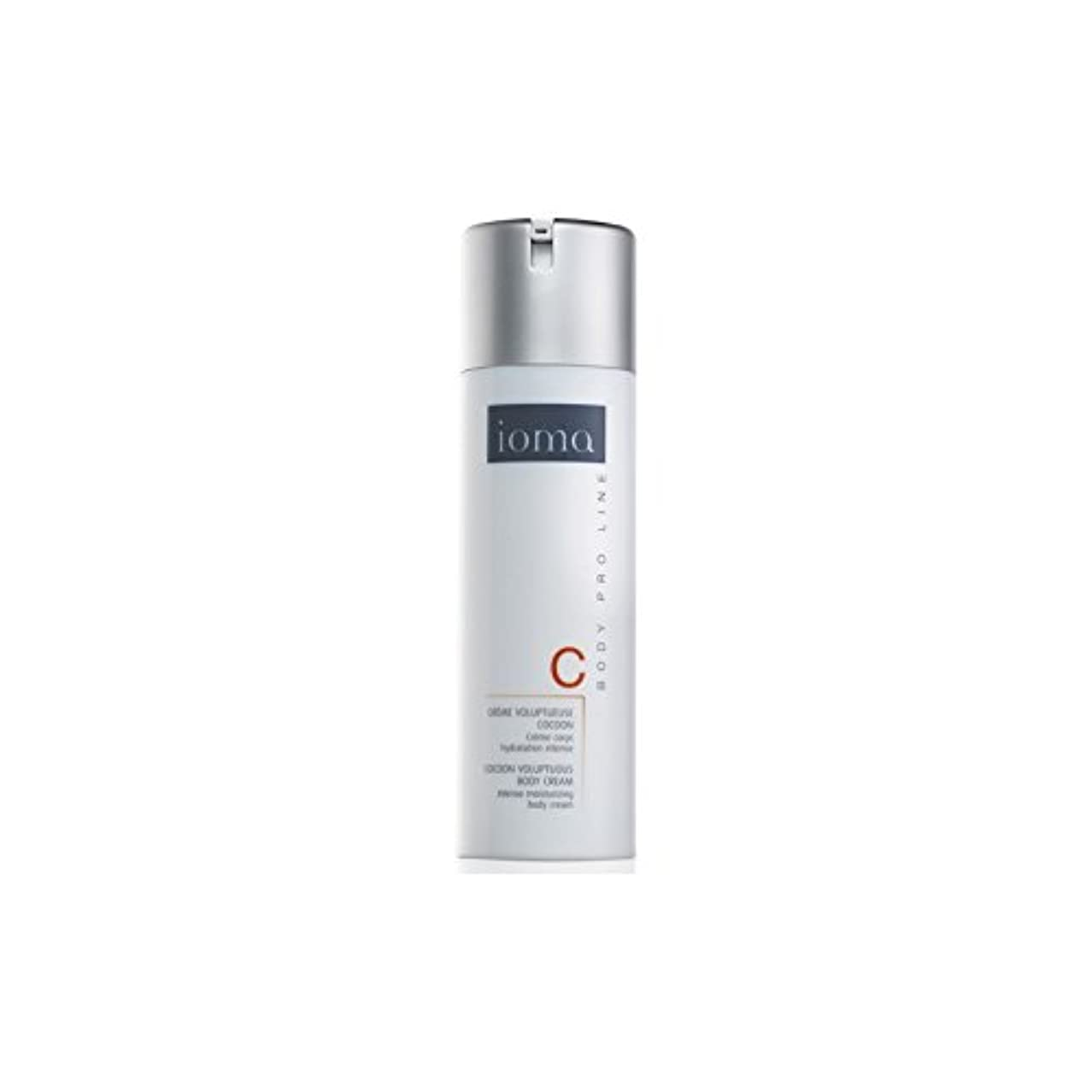 フレット特徴鎮静剤Ioma Cocoon Voluptuous Body Cream 150ml (Pack of 6) - 繭豊満なボディクリーム150ミリリットル x6 [並行輸入品]