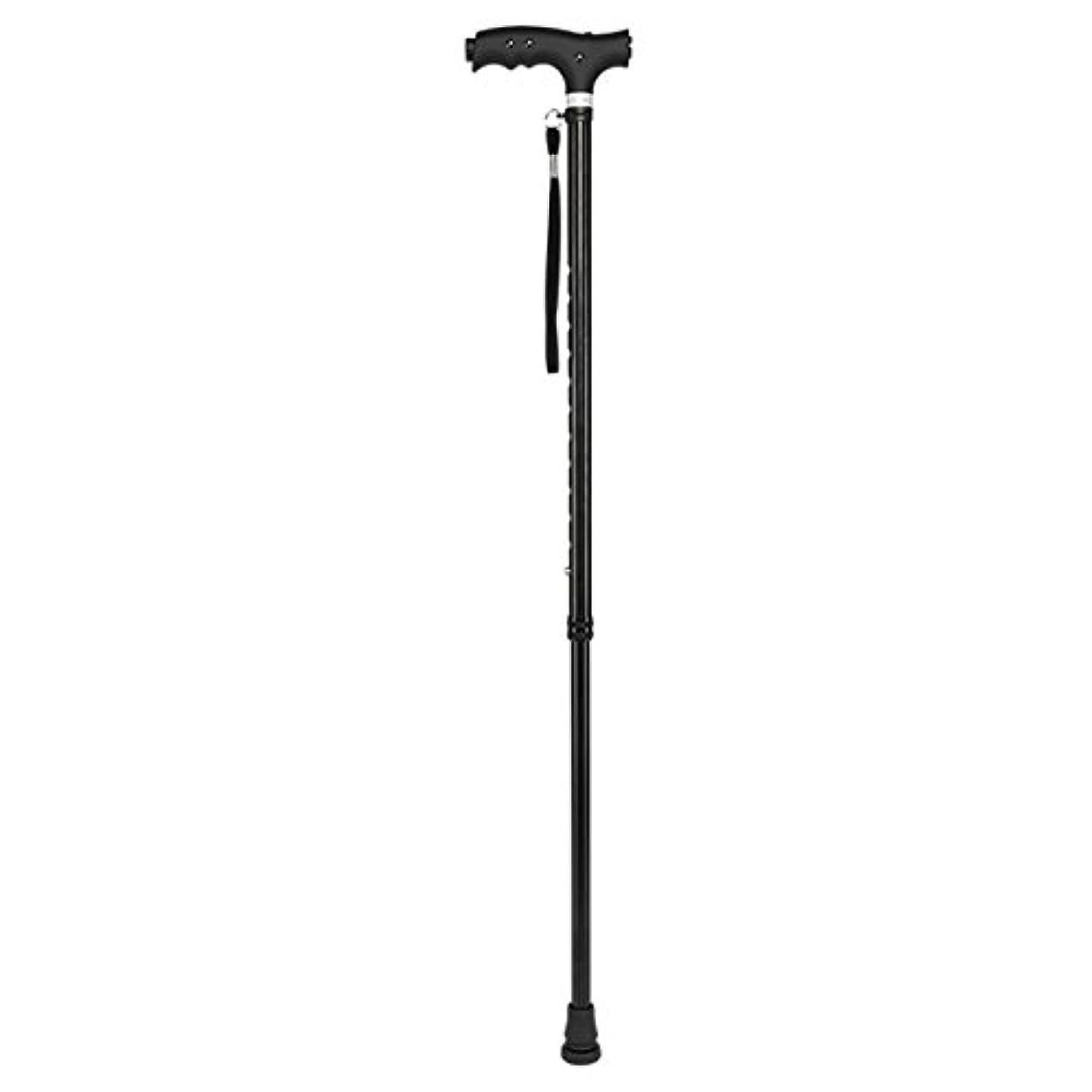 施設地域のはずdsfghe Old Man Walking Stick Telescopic Walking Stick three-legged Crutches three-leggedトレッキングポールアンチスキッドライトウォーキングスティック 07230