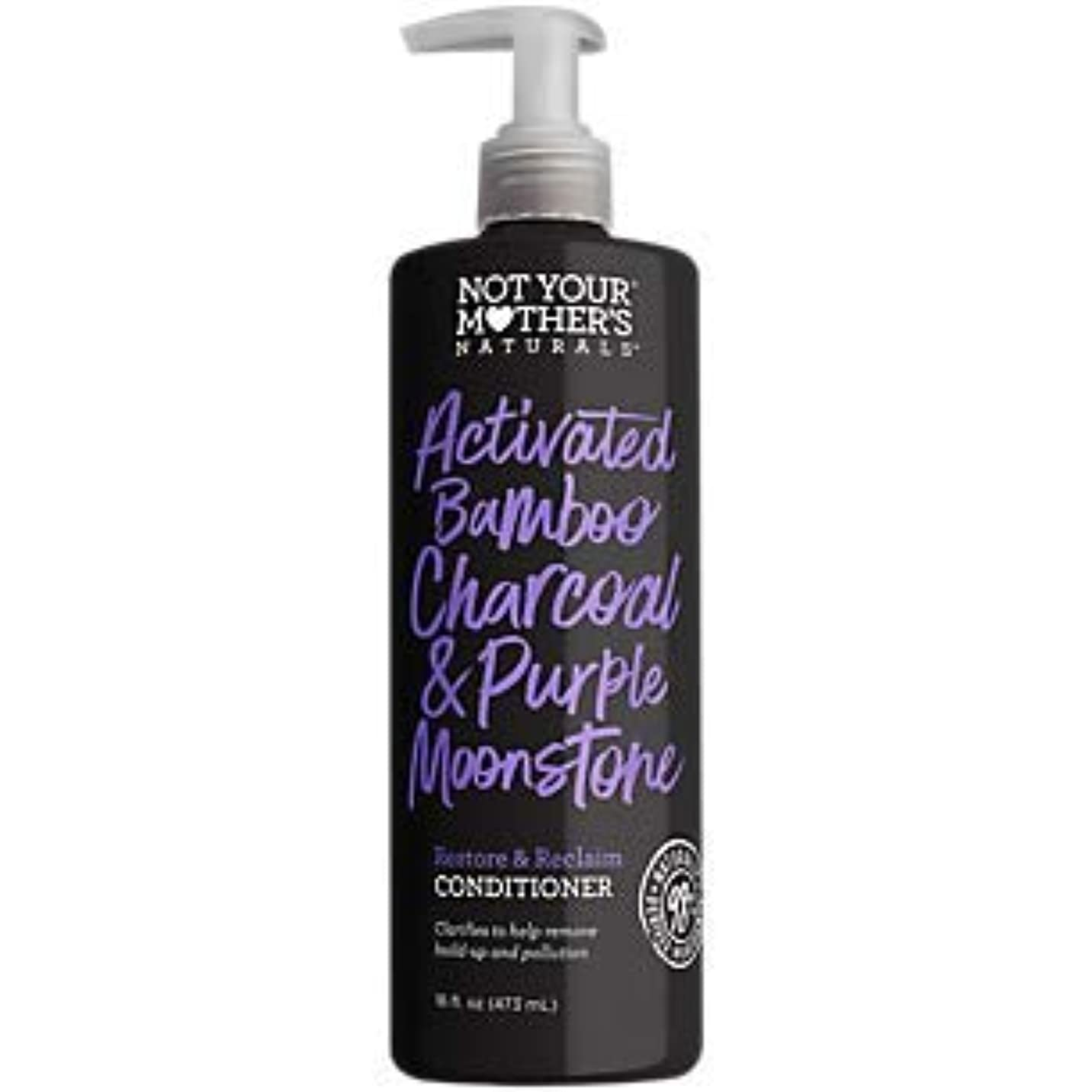 洞察力のあるカビクルーNOT YOUR MOTHER'S Activated Bamboo Charcoal & Purple Moonstone Conditioner, 16 FZ 141[並行輸入]