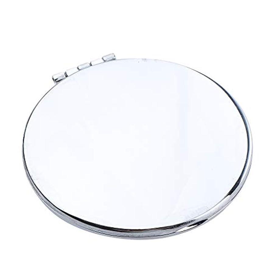 旧正月厳密にむしろポータブルポケットミラーコンパクトメイク化粧品ファッション虚栄心ミラー - 円形