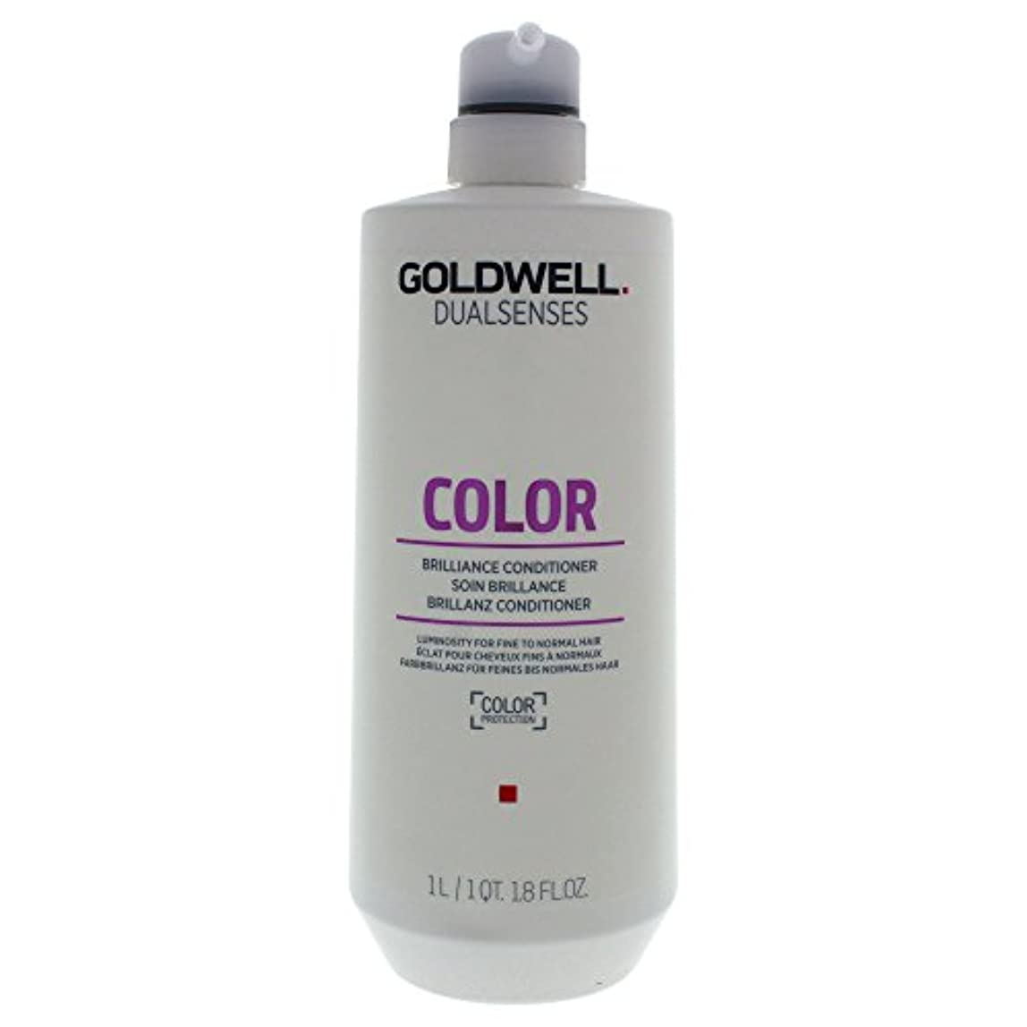 チーター帰する最初はゴールドウェル Dual Senses Color Brilliance Conditioner (Luminosity For Fine to Normal Hair) 1000ml