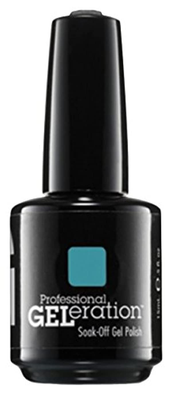 とげのあるインチたまにJessica GELeration Gel Polish - Faux Fur Blue - 15ml / 0.5oz