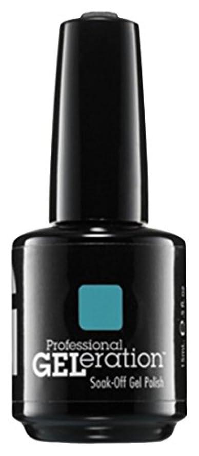 ハイジャック辞任するしゃがむJessica GELeration Gel Polish - Faux Fur Blue - 15ml / 0.5oz