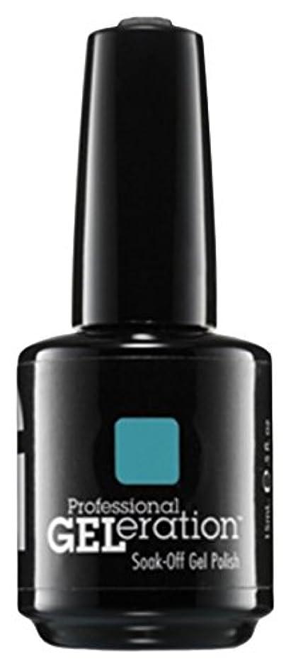 スティック詳細な南Jessica GELeration Gel Polish - Faux Fur Blue - 15ml / 0.5oz