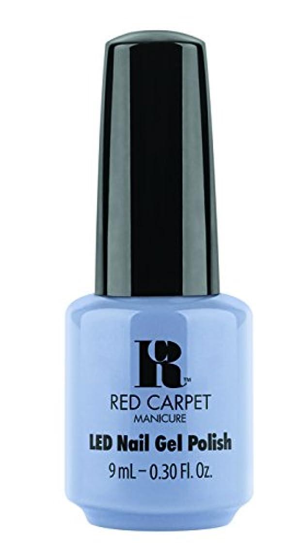 スパークスキニーボランティアRed Carpet Manicure - LED Nail Gel Polish - Blue-Delicious - 0.3oz / 9ml
