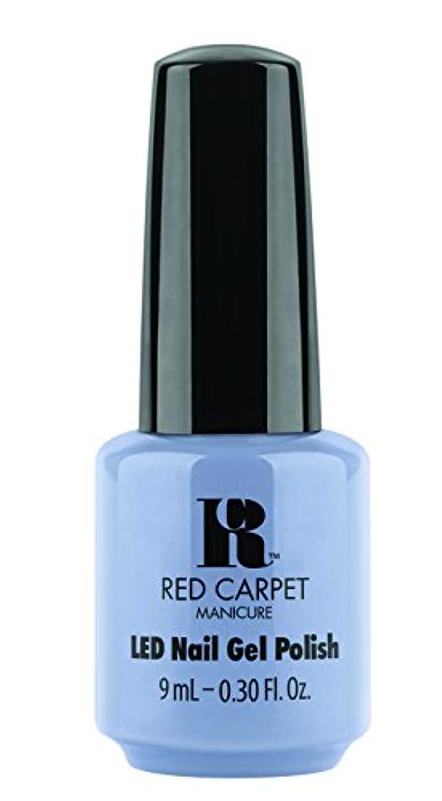 説明的破壊的な順応性のあるRed Carpet Manicure - LED Nail Gel Polish - Blue-Delicious - 0.3oz / 9ml