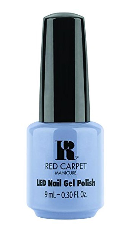 ベスビオ山垂直自然Red Carpet Manicure - LED Nail Gel Polish - Blue-Delicious - 0.3oz / 9ml