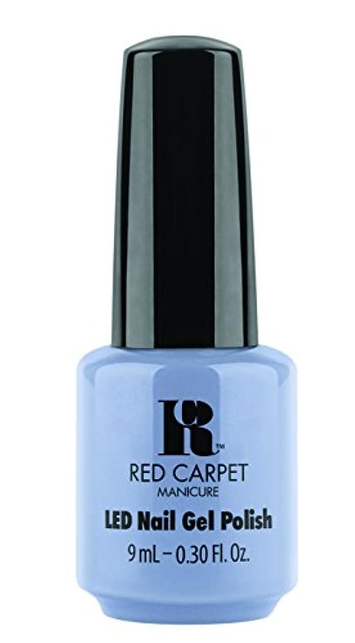 船上市の花望ましいRed Carpet Manicure - LED Nail Gel Polish - Blue-Delicious - 0.3oz / 9ml