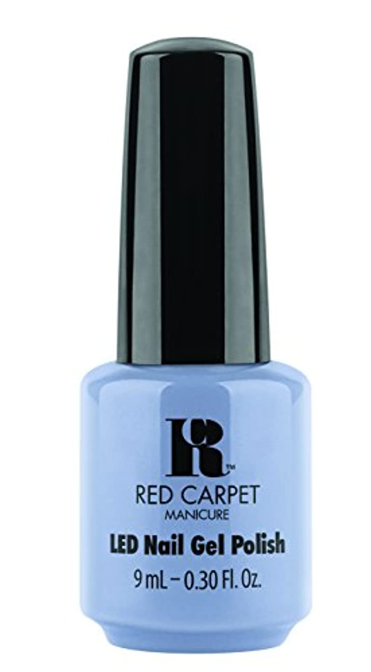 道補体ぴかぴかRed Carpet Manicure - LED Nail Gel Polish - Blue-Delicious - 0.3oz / 9ml