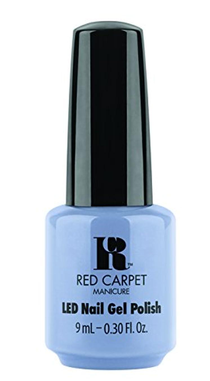 便益気性中国Red Carpet Manicure - LED Nail Gel Polish - Blue-Delicious - 0.3oz / 9ml