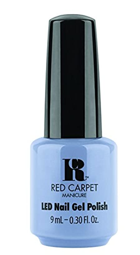 ベジタリアンラオス人バランスのとれたRed Carpet Manicure - LED Nail Gel Polish - Blue-Delicious - 0.3oz / 9ml