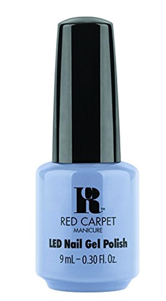 無駄なミスベンチャーRed Carpet Manicure - LED Nail Gel Polish - Blue-Delicious - 0.3oz / 9ml