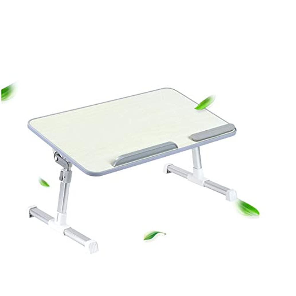 統計的受け皿物質PingFanMi 簡単収納ベッドスタディテーブル折りたたみ式テーブル、リフティングテーブル脚、滑り止めハンドレスト、スタンディングデスク、屋外ダイニングテーブル (サイズ さいず : 60*30cm)
