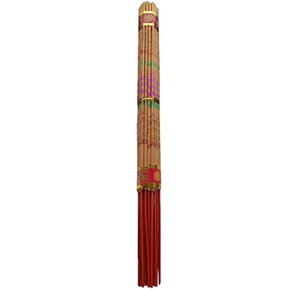 測定藤色要旨zeestar Incense/中国香お香Long Burning Buddhist 10.2インチ – 38 Sticks