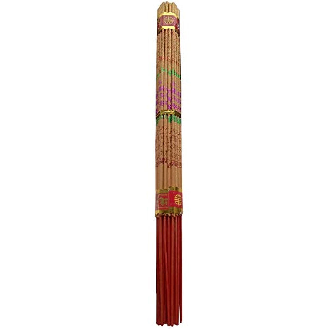 いじめっ子勤勉引き出すzeestar Incense/中国香お香Long Burning Buddhist 10.2インチ – 38 Sticks