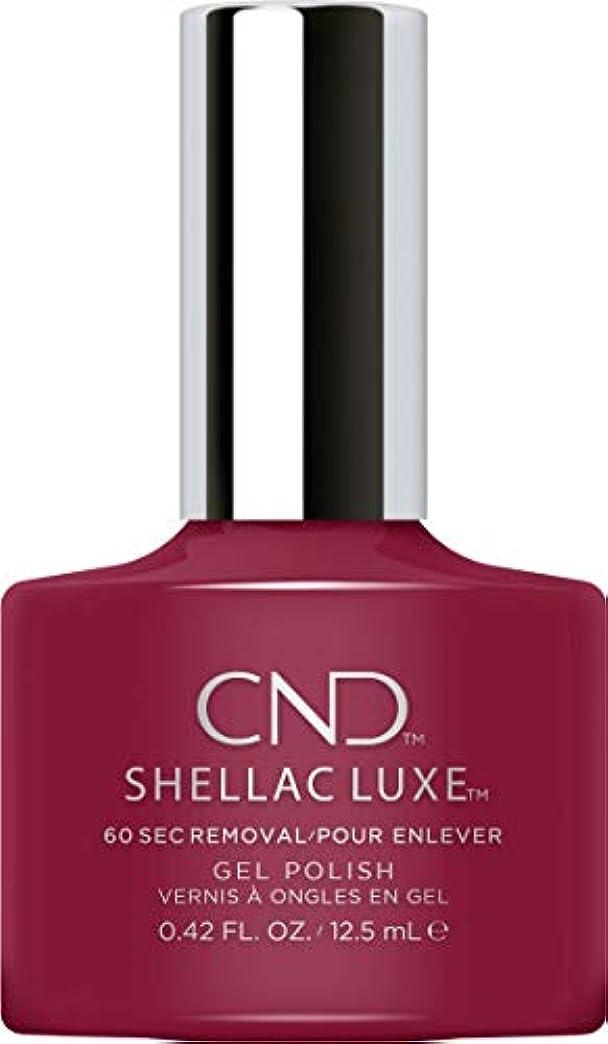 憂慮すべき導体広範囲CND Shellac Luxe - Decadence - 12.5 ml / 0.42 oz