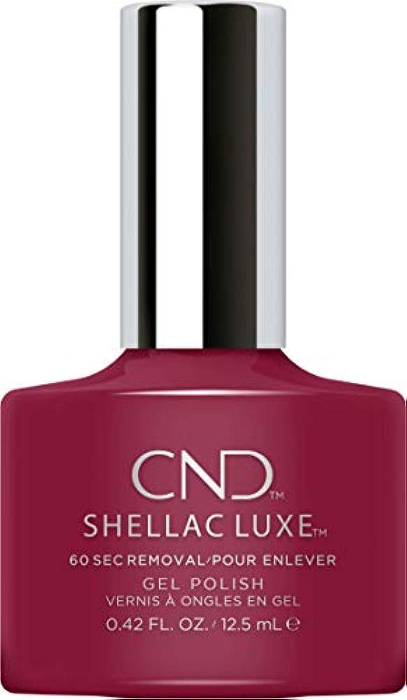ブランチ保険をかけると組むCND Shellac Luxe - Decadence - 12.5 ml / 0.42 oz