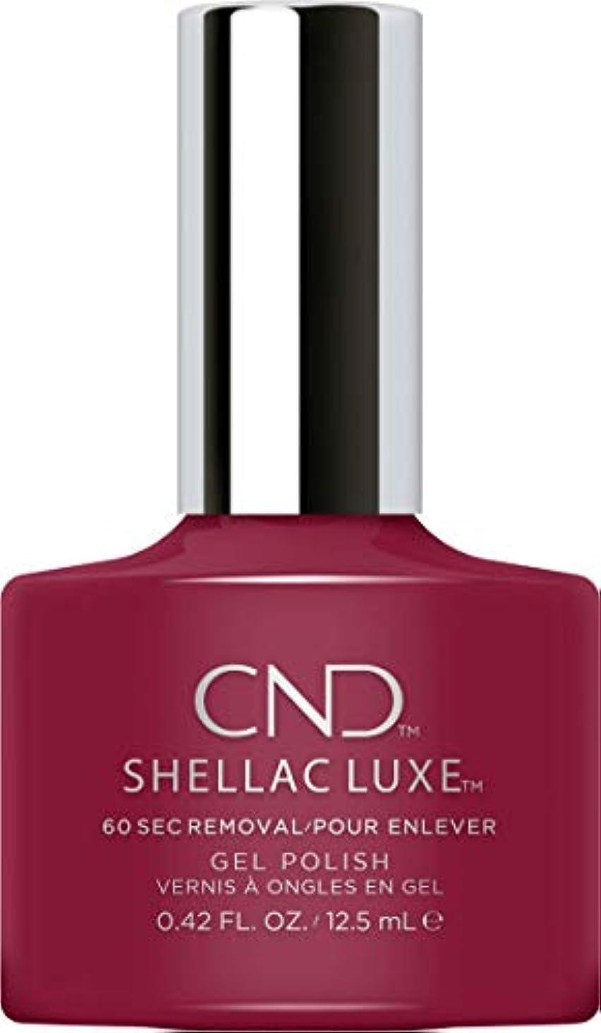 バスケットボール蒸留する非難するCND Shellac Luxe - Decadence - 12.5 ml / 0.42 oz
