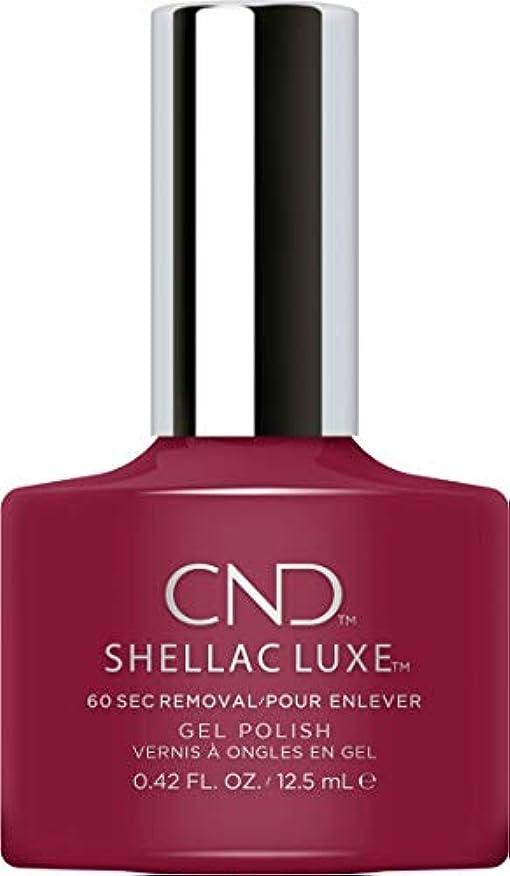 夕食を食べる憧れ興味CND Shellac Luxe - Decadence - 12.5 ml / 0.42 oz