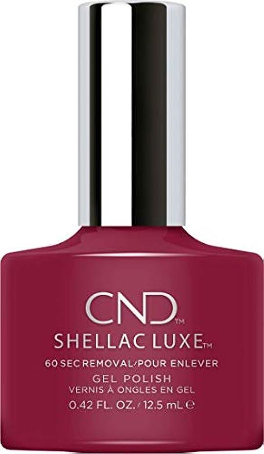 起こるジャーナル壮大なCND Shellac Luxe - Decadence - 12.5 ml / 0.42 oz