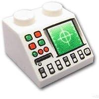 レゴブロック ばら売りパーツ スロープ 45°2 x 2 - レーダー :[White / ホワイト] [並行輸入品]