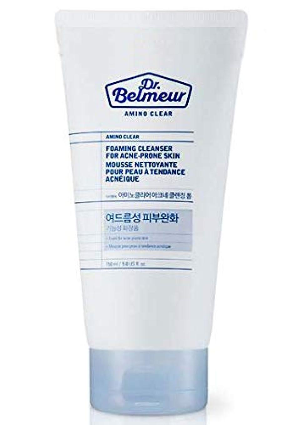 縮れたひどく軍艦[ザ?フェイスショップ] THE FACE SHOP [ドクターベルモ アミノ クリア クレンジングフォーム  150ml] Dr.Belmeur Amino Clear Foaming Cleanser 150g) [...
