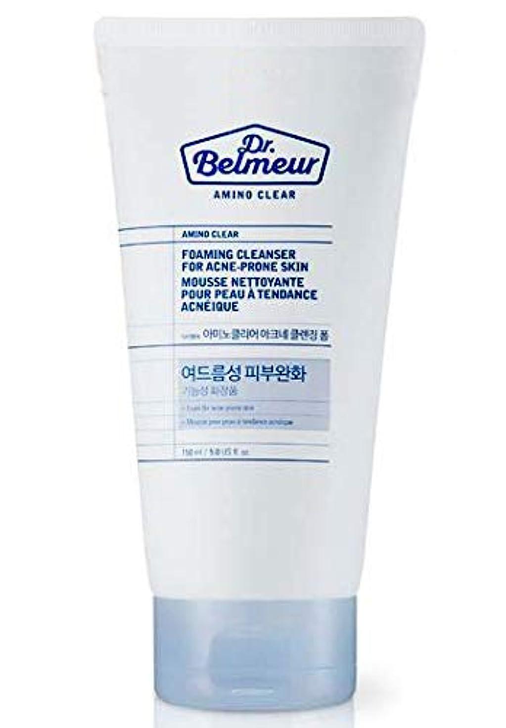 格納脱臼するカエル[ザ?フェイスショップ] THE FACE SHOP [ドクターベルモ アミノ クリア クレンジングフォーム  150ml] Dr.Belmeur Amino Clear Foaming Cleanser 150g) [...