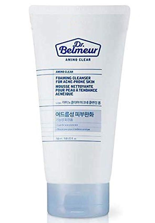 脇に均等にマキシム[ザ?フェイスショップ] THE FACE SHOP [ドクターベルモ アミノ クリア クレンジングフォーム  150ml] Dr.Belmeur Amino Clear Foaming Cleanser 150g) [...