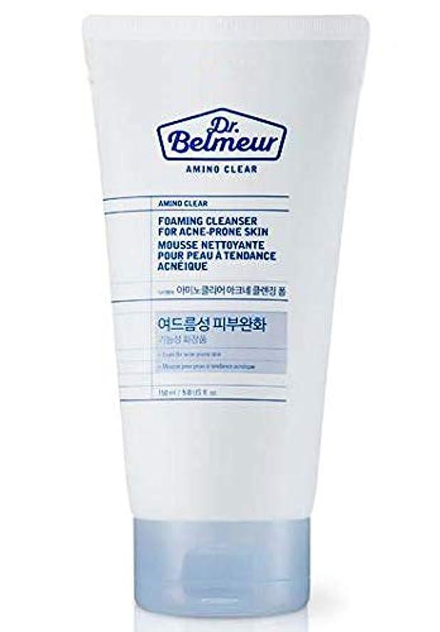 社会学提供悪の[ザ?フェイスショップ] THE FACE SHOP [ドクターベルモ アミノ クリア クレンジングフォーム  150ml] Dr.Belmeur Amino Clear Foaming Cleanser 150g) [...