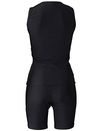 『VAXPOT(バックスポット) フィットネス水着 レディース セパレート 袖なし VA-5152』の1枚目の画像