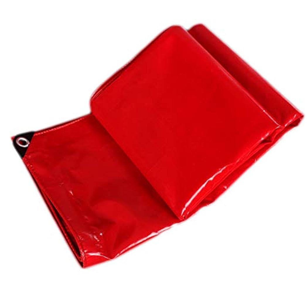 ダイヤモンドミル冷酷なサンシェード 厚手のターポリンレッドウェディングシェッドクロスサンシェード防水日焼け止めターポリンターポリン潤い防止簡単折り畳み Rollsnownow (サイズ さいず : 3*3m)