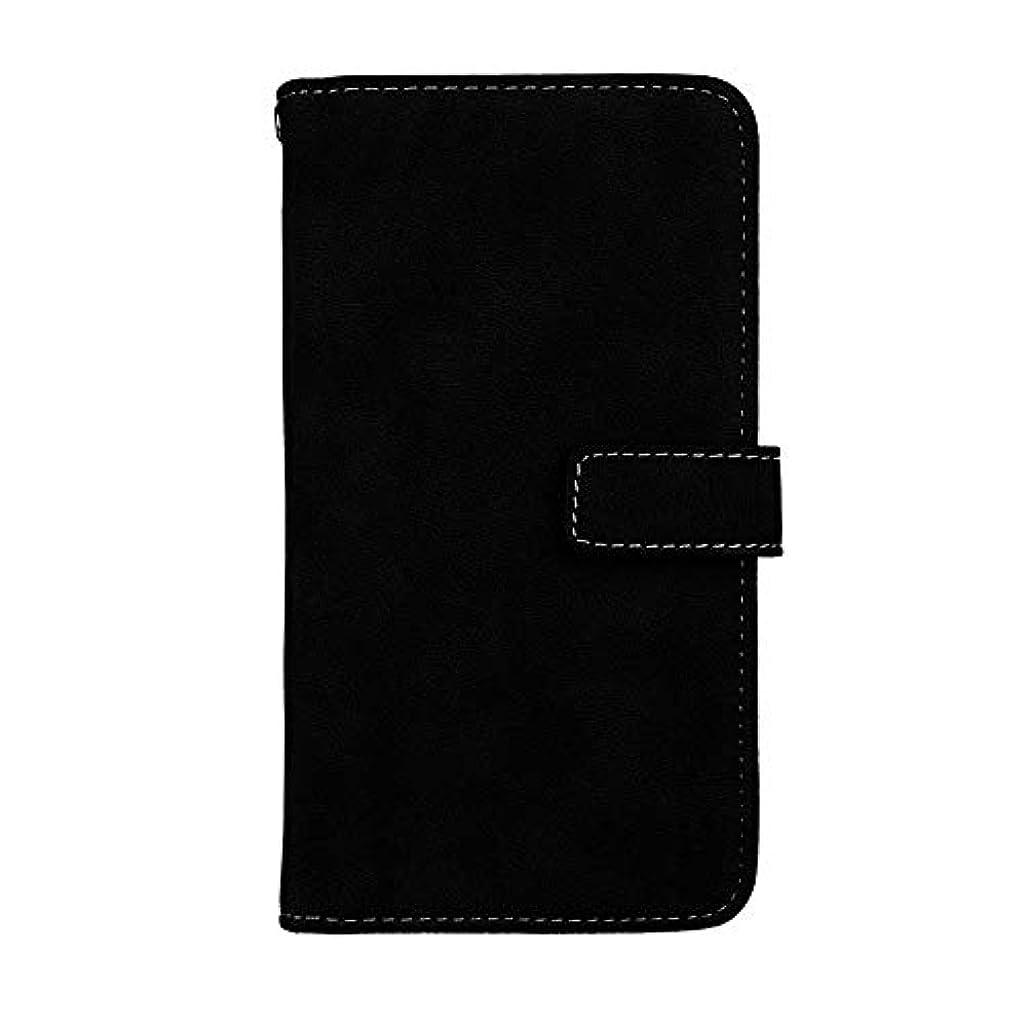 わずかに変化するめまいXiaomi Redmi Note 4X 高品質 マグネット ケース, CUNUS 携帯電話 ケース 軽量 柔軟 高品質 耐摩擦 カード収納 カバー Xiaomi Redmi Note 4X 用, ブラック