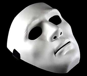 人気 Youtuber も愛用 話題のダンス マスク (白) サバイバルゲーム 仮装 コスプレ サバイバル ラファエル