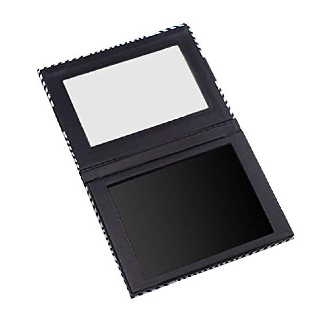 無礼に比類なきバックLurrose ミラー付き空の磁気パレットアイシャドウオーガナイザー