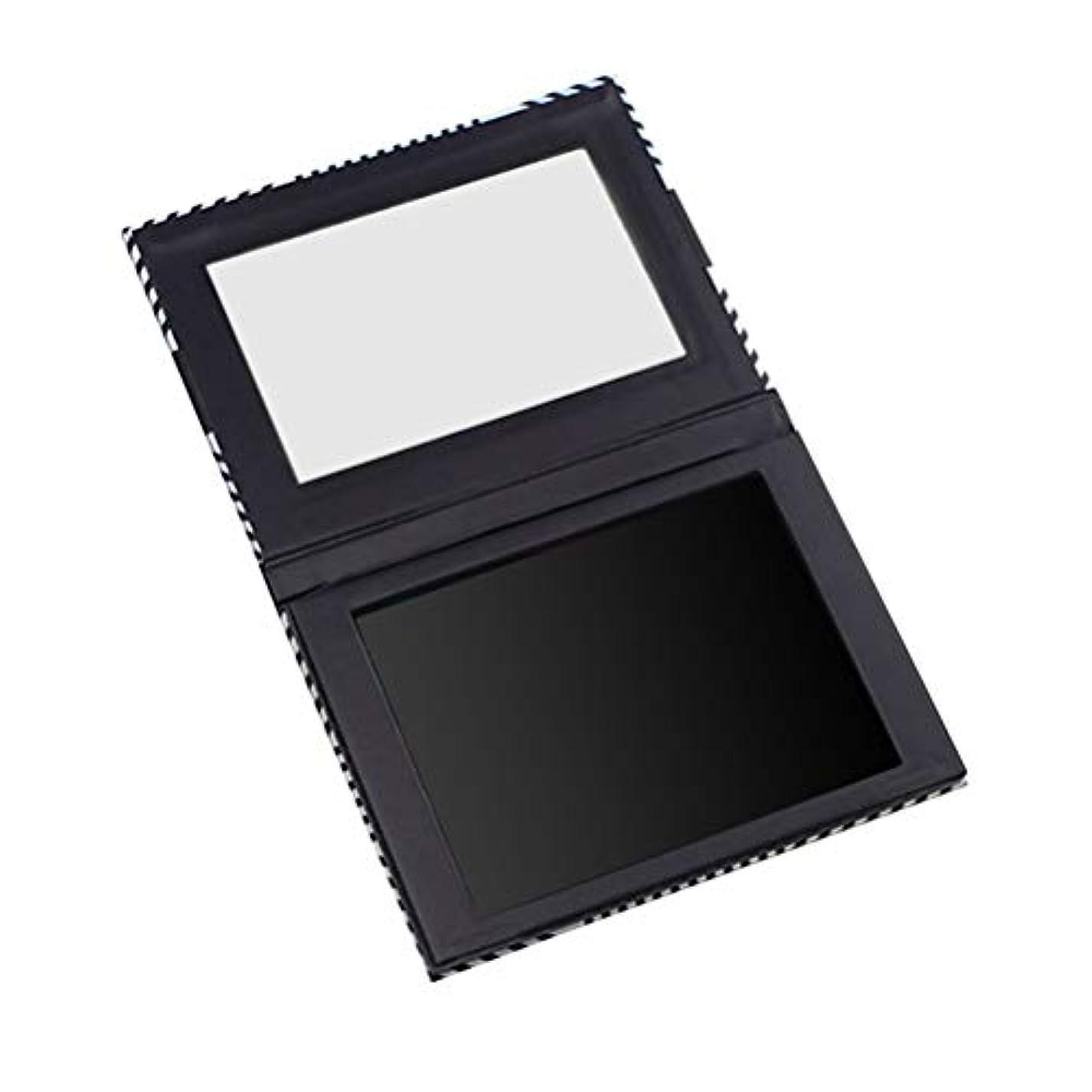 露縞模様のキャビンLurrose ミラー付き空の磁気パレットアイシャドウオーガナイザー