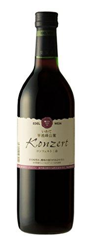 エーデルワイン コンツェルト 赤 辛口 720ml