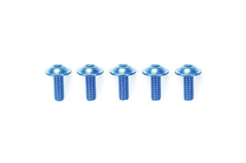RC限定シリーズ 3×6mm アルミフランジビス (ブルー/5個) 84108