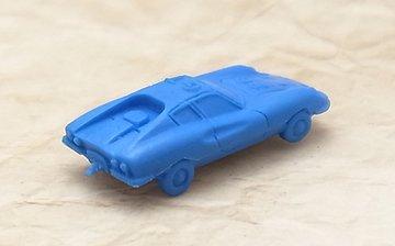 スーパーカー消しゴム ディノ246GT(ダークブルー)|フェラーリ・Dino・ディーノ