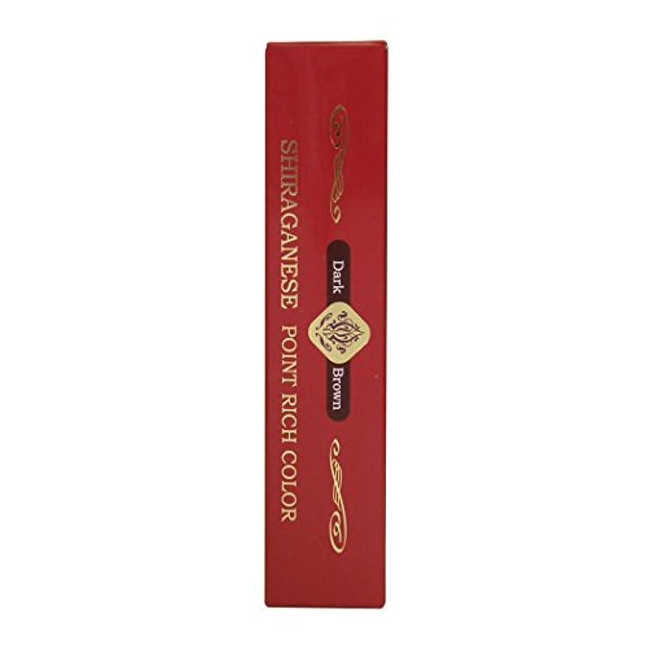 ラップトップわずかに舗装するビアント シラガネーゼ ポイントリッチカラー ダークブラウン 20g