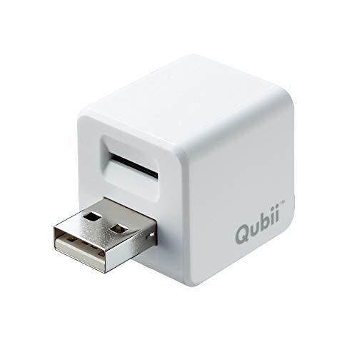 サンワダイレクト iPhoneカードリーダー 充電時自動バックアップ microSD MFi認証品 専用アプリ 400-ADRIP010W