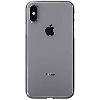 Air jacket for iPhone XS(クリアブラック)