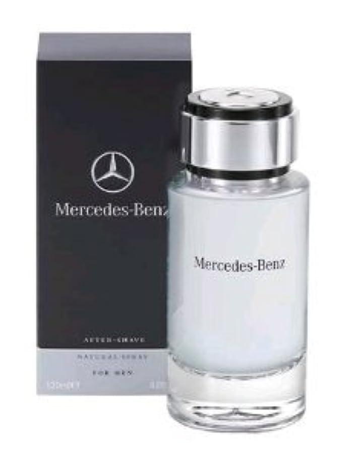 休み手紙を書く前売Mercedes-Benz (メルセデス ベンツ) 4.0 oz (120ml) Aftershave Spray (アフターシェーブ スプレー) by Mercedes-Benz for Men