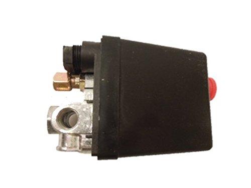 エアー コンプレッサー スイッチ 4ポート 空気 圧縮機 圧力 制御 補修 修理 交換