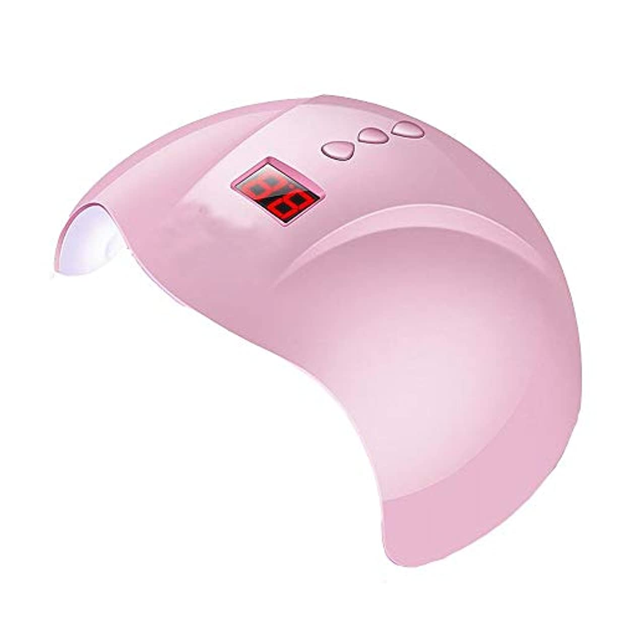 放棄された気分暖かさYESONEEP 36Wスマートベルト誘導ネイルオイル接着剤ドライヤーLED + UVネイル光線療法ランプネイルマシンクイックドライ (Size : 36W)